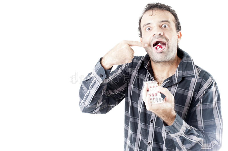 Hypochondriac stock images