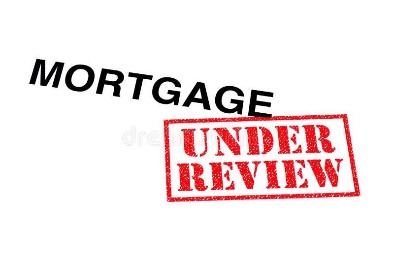 Hypothèque à l'étude image stock