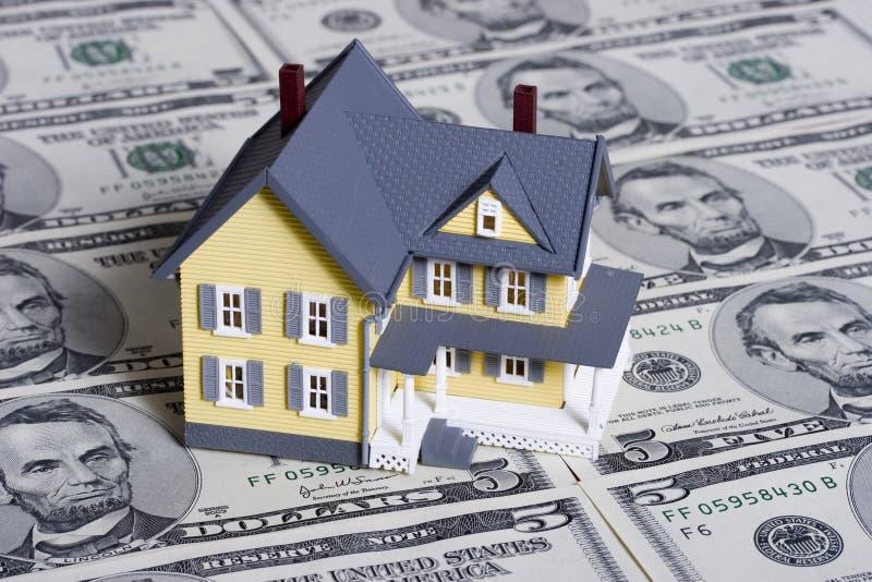 Hypothèque et acompte images stock