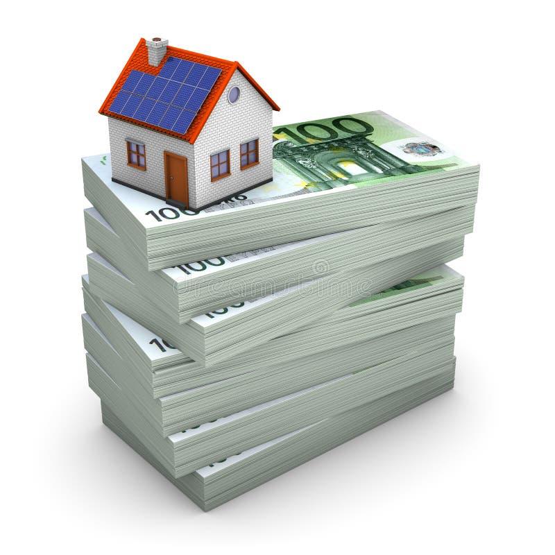 Hypothec costoso illustrazione di stock