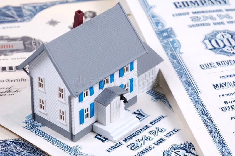 Hypotheek royalty-vrije stock afbeeldingen
