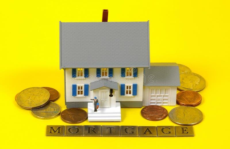 Hypotheek stock fotografie