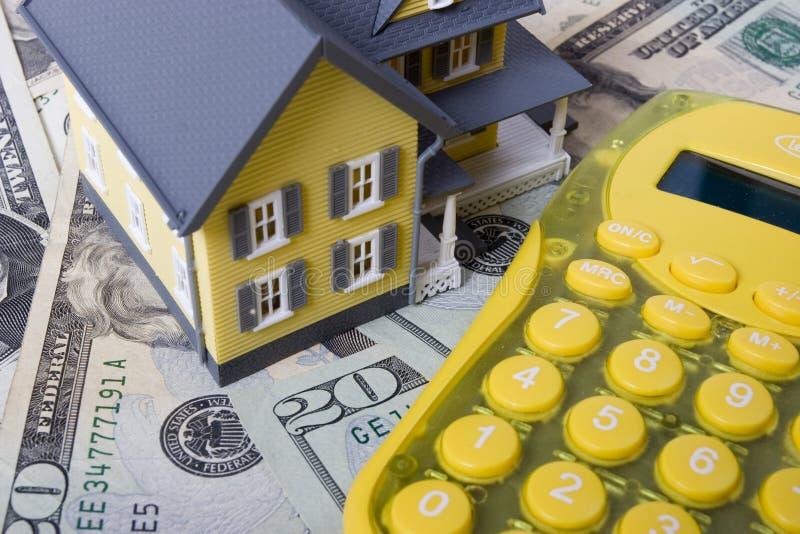 Hypothek und Anzahlung lizenzfreies stockfoto