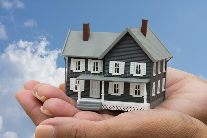 Hypotheken-Hilfe lizenzfreie stockbilder