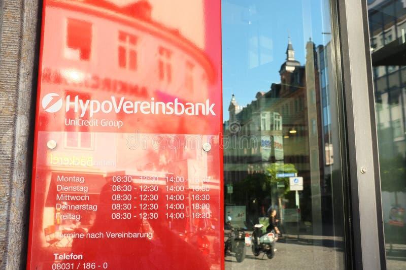 HypoVereinsbank zdjęcie stock