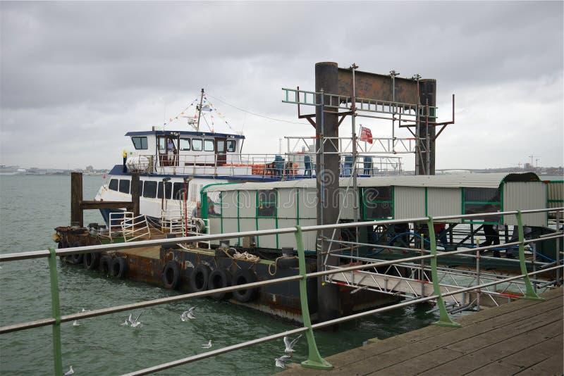 Hythe Pier Hampshire Regno Unito immagine stock