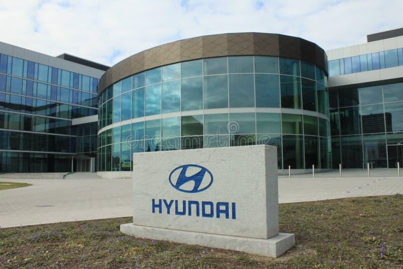 Hyundai Европа стоковая фотография rf