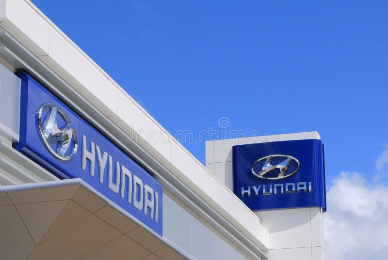 hyundai стоковое изображение rf