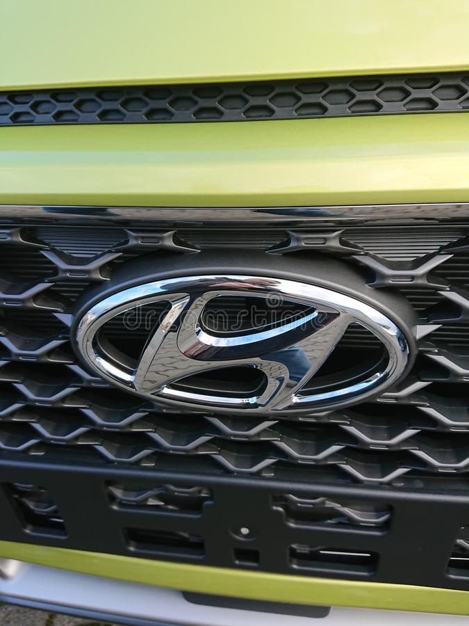 Hyundai bil royaltyfri foto
