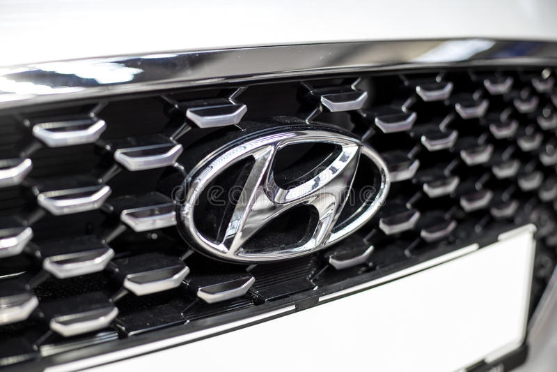 Hyundai bil arkivfoton
