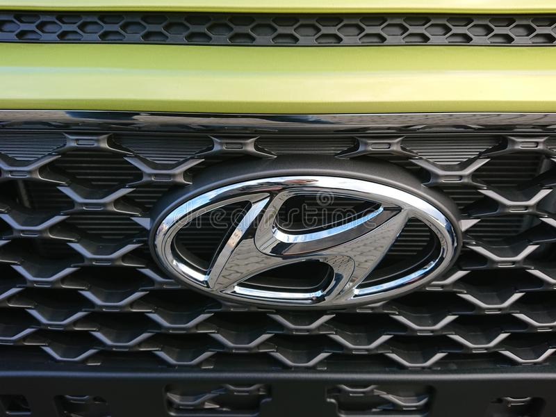 Hyundai car royalty free stock photography