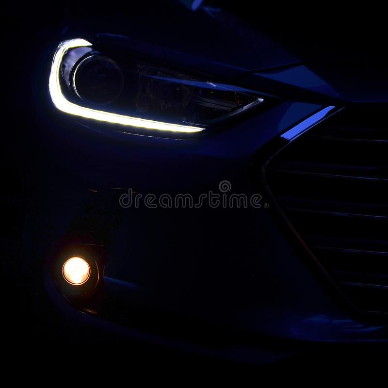Hyundai Elantra 2016 royaltyfria foton