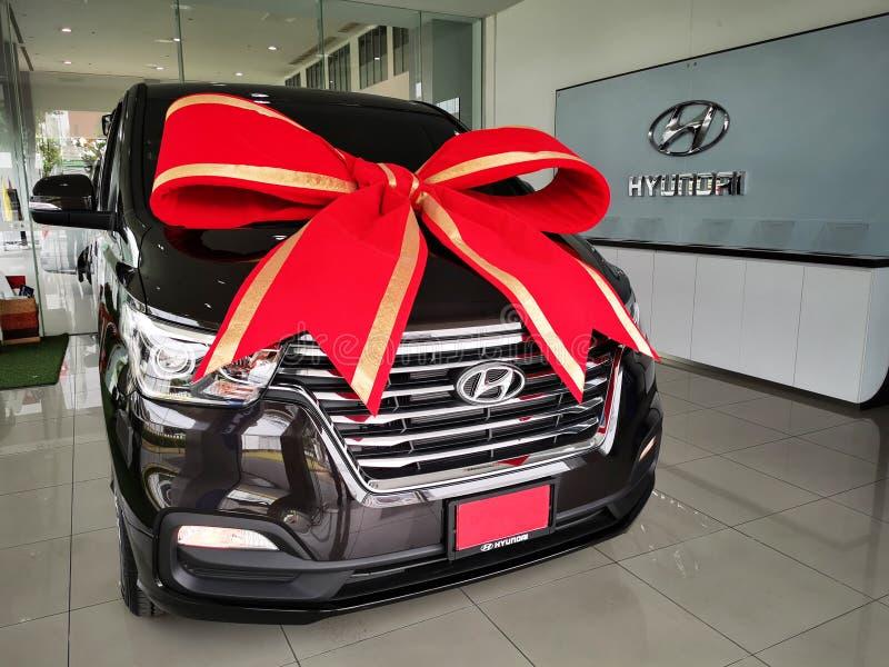 Hyundai H1 2019, Van de lujo imagen de archivo