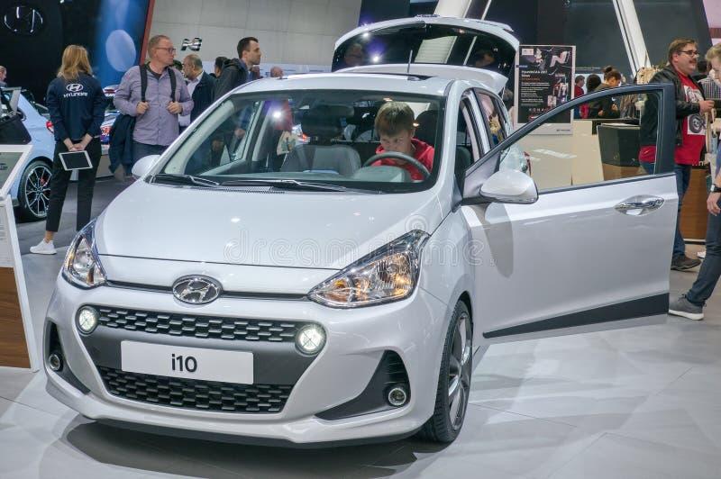 Hyundai i10 стоковое фото