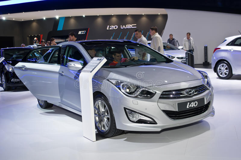 Hyundai i40 стоковое фото