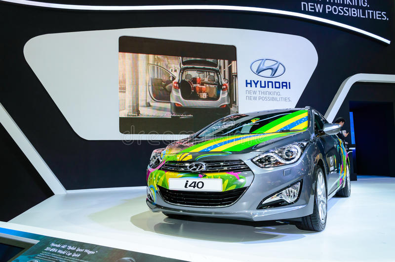 Download Hyundai I40 Brazil Edition Skin. Editorial Image - Image of business, motor: 39503350