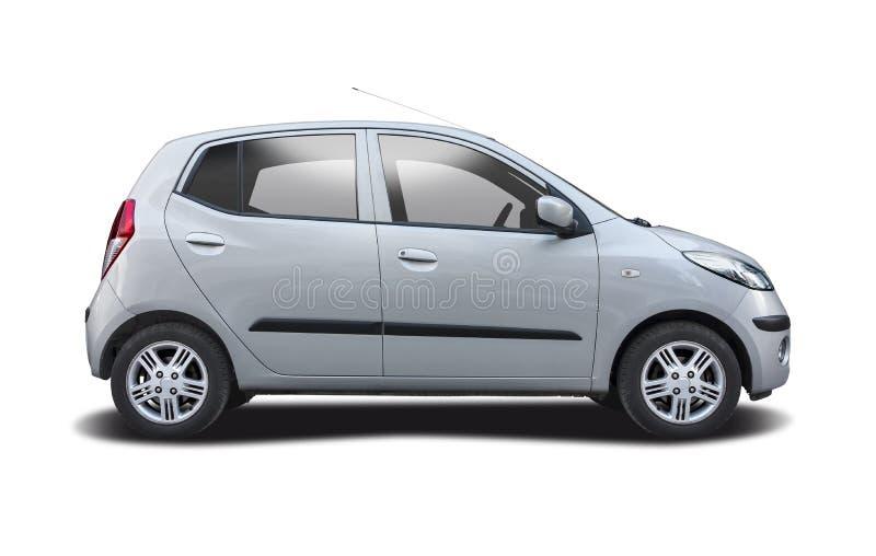 Hyundai i10 isolato su bianco fotografie stock