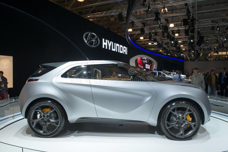 Hyundai-Kandare-Konzept-kleine Überkreuzung lizenzfreies stockbild