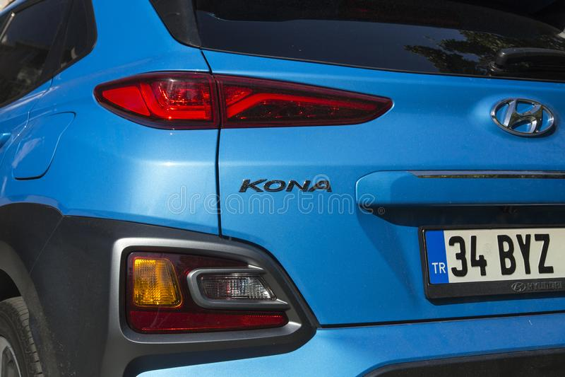 Hyundai Kona στοκ εικόνες