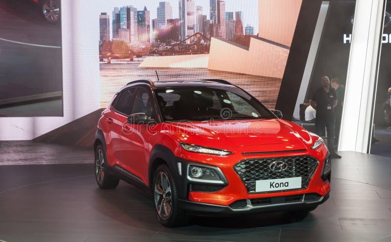 Hyundai Kona SUV photographie stock libre de droits