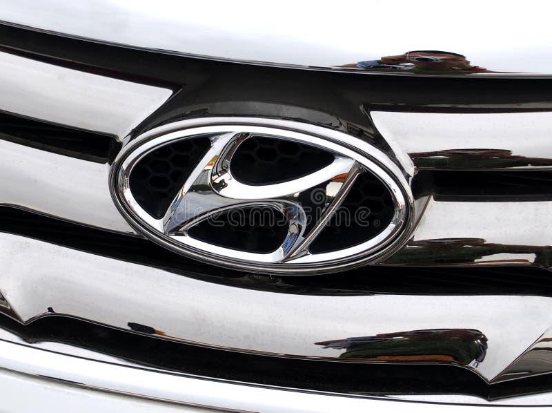 Hyundai Motorlogo стоковые изображения