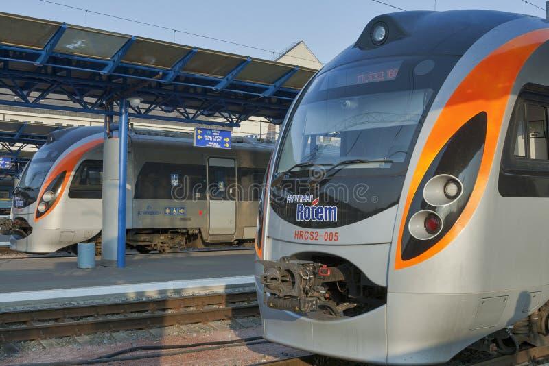 Hyundai Rotem train stock photos