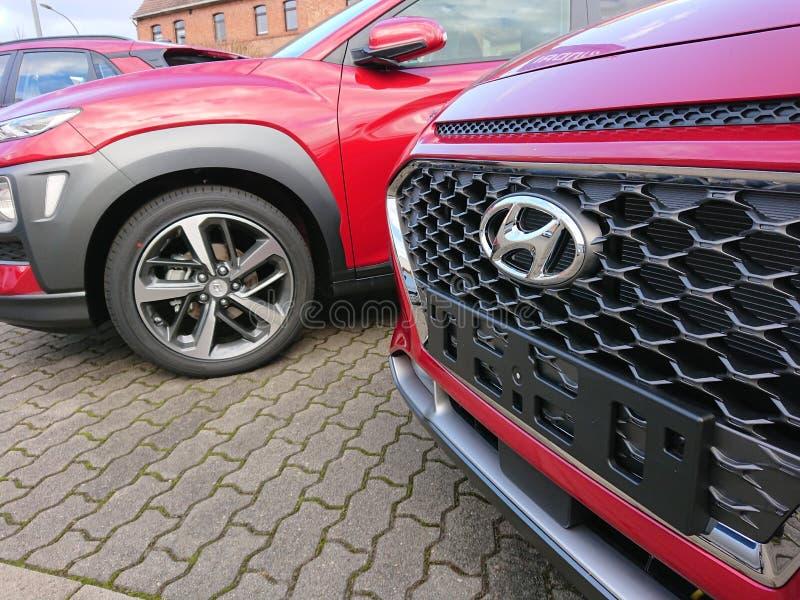 Hyundai samochód zdjęcia stock