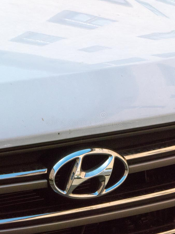 Hyundai samochód obrazy royalty free