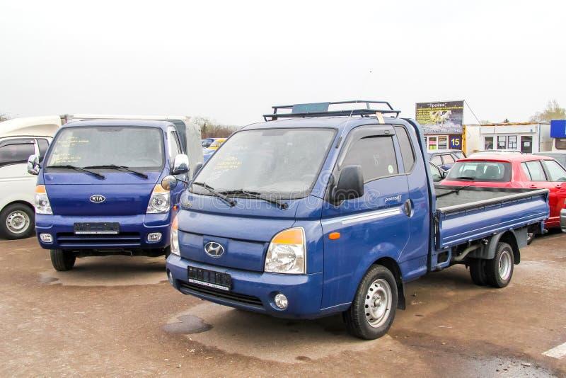 Hyundai-Träger lizenzfreie stockbilder