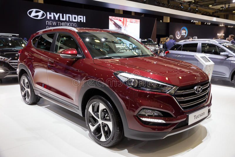 Hyundai 2016 Tucson стоковые фото