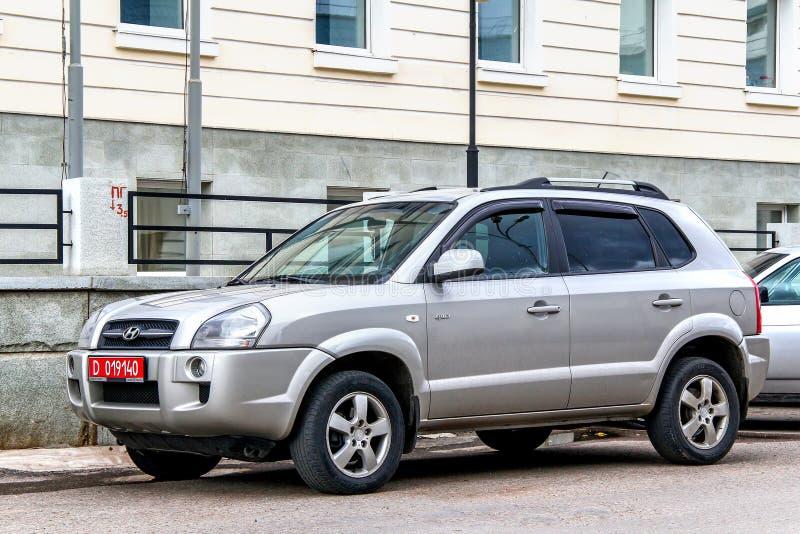 Hyundai Tucson stock foto's