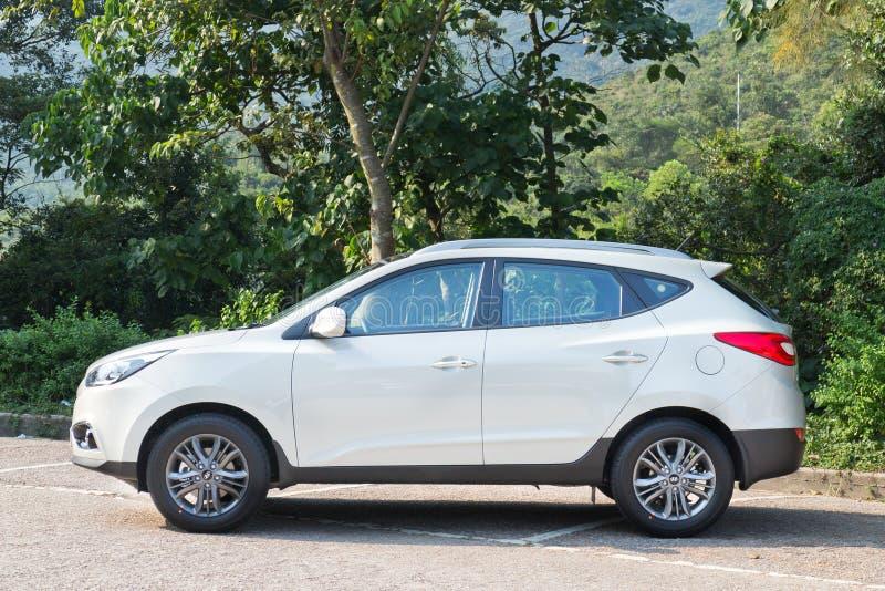 Hyundai TUCSON 2.0 het Model van 2013 stock afbeelding