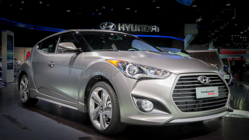 Hyundai Veloster Turbo стоковое фото rf