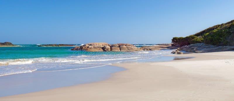 Iögonfallande strand fotografering för bildbyråer