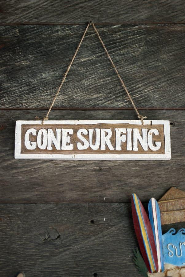 Iść surfować zdjęcie stock