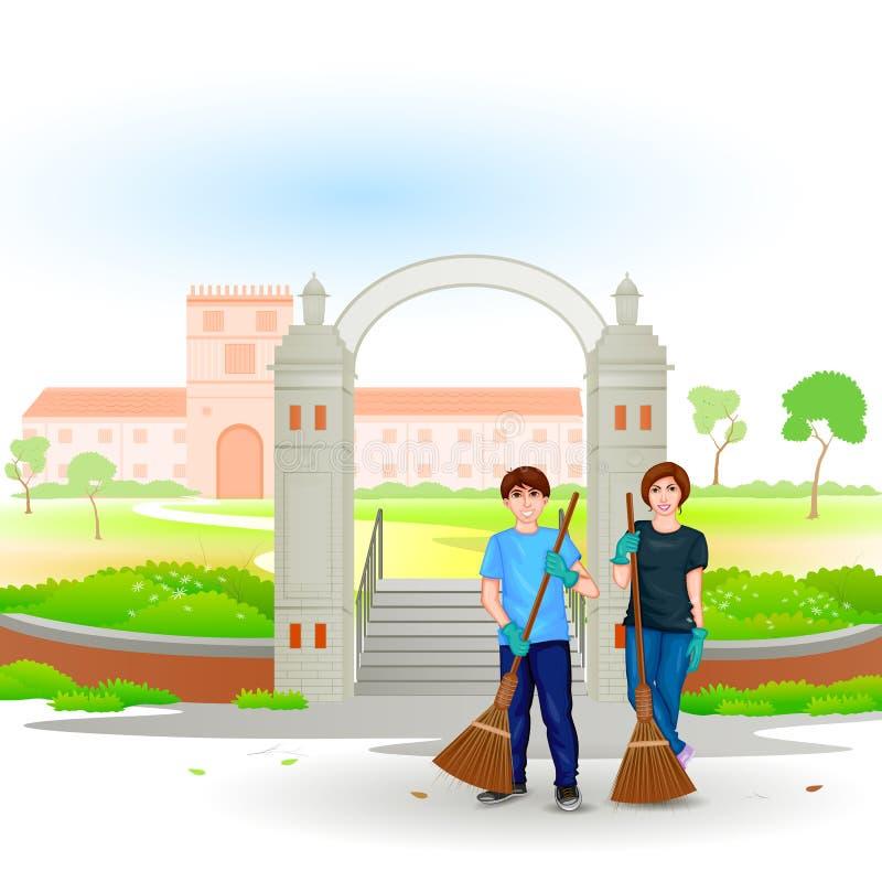 Download Iść zieleń Iść Czystą ilustracja wektor. Ilustracja złożonej z środowiskowy - 57666956