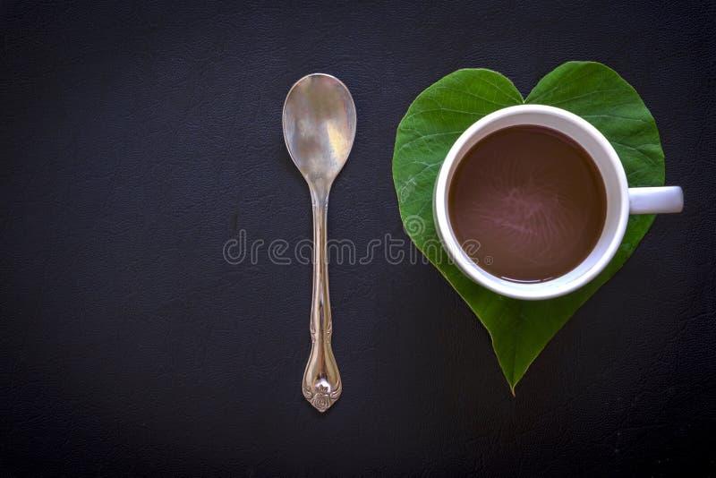 I爱咖啡的概念 免版税库存图片