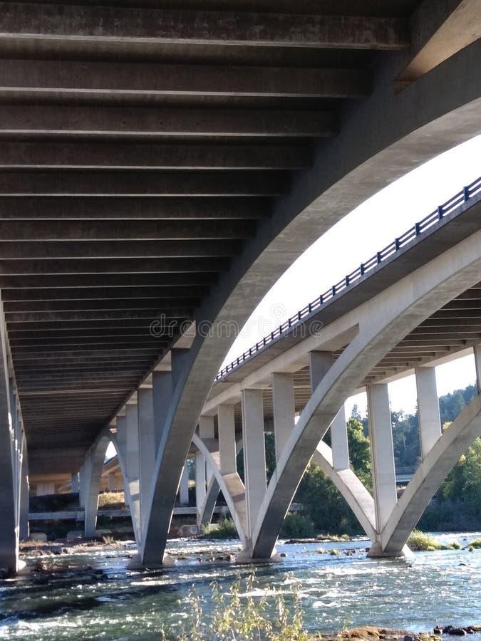 I-5 над Willamette стоковое фото