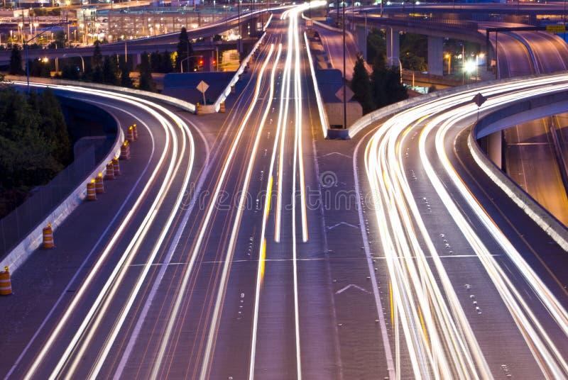 I-90 verkeer stock afbeeldingen