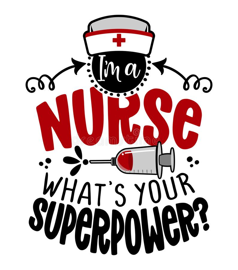 Free I Am A Nurse, What Is Your Superpower - STOP Coronavirus 2019-ncov Nurse T-shirt. Royalty Free Stock Photo - 211356755