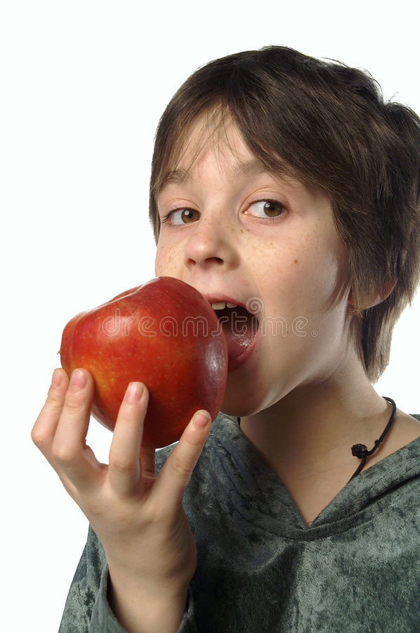 Free I Am Eating An Apple Royalty Free Stock Images - 1727899