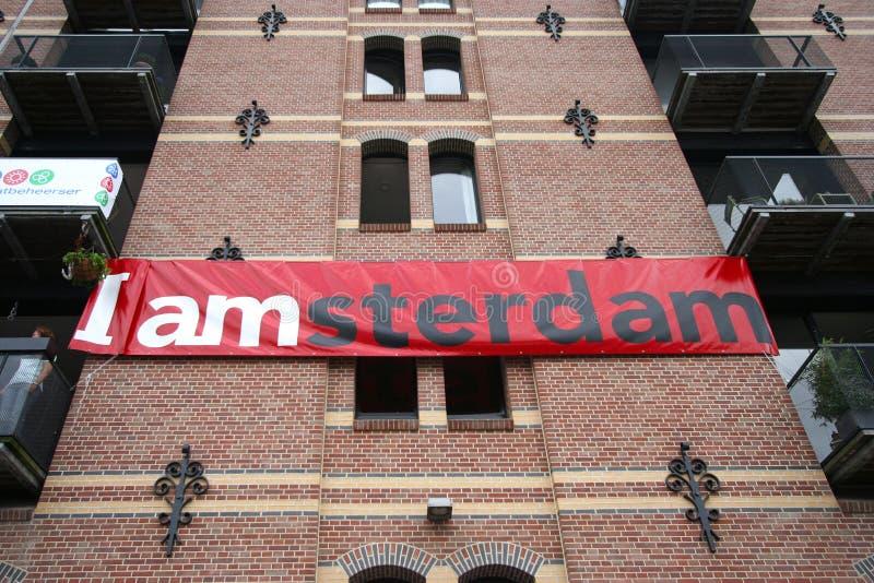 I Amsterdam stock foto's