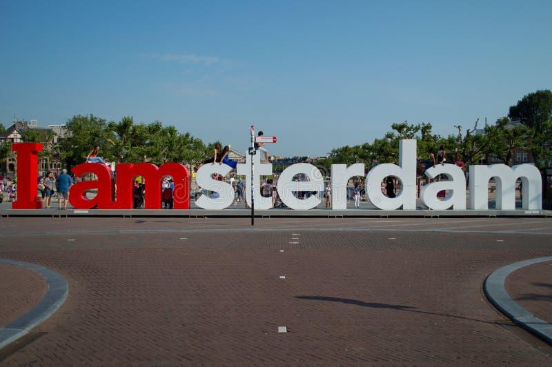 I Amsterdam royalty-vrije stock foto