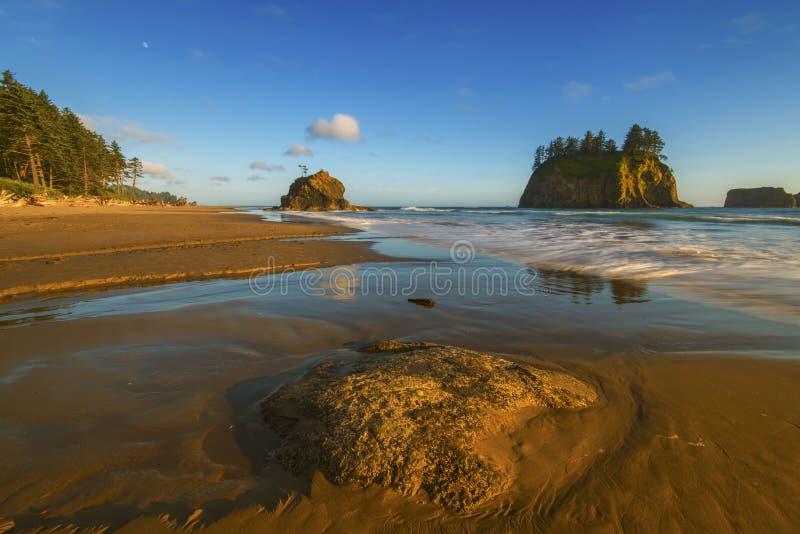 I andra hand strand, LaPush arkivfoton