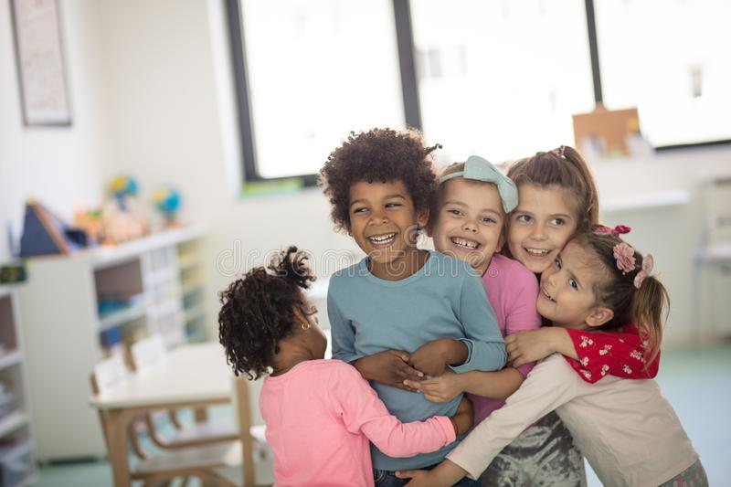 I bambini è amore fotografia stock