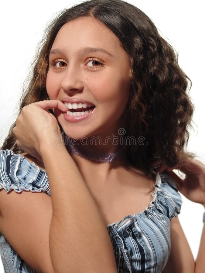 Download Am I beautiful? stock image. Image of teen, success, youth - 466605
