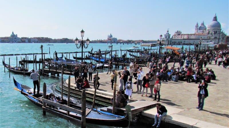 I bei Di Santa Maria della Salute della basilica della La a Venezia, Italia immagini stock