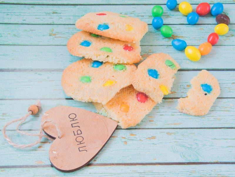 I biscotti del homemmade più dolci fotografia stock libera da diritti