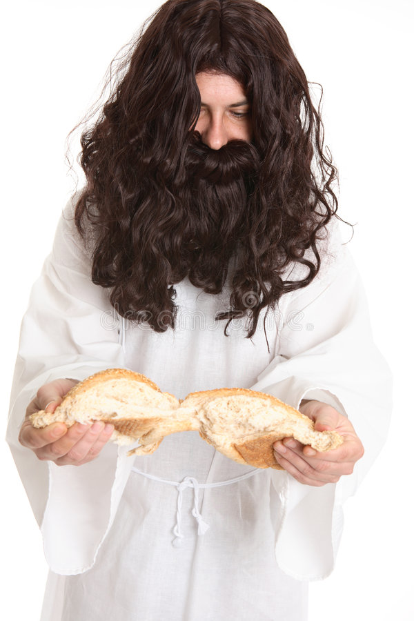 I Am the Bread of Life stock image