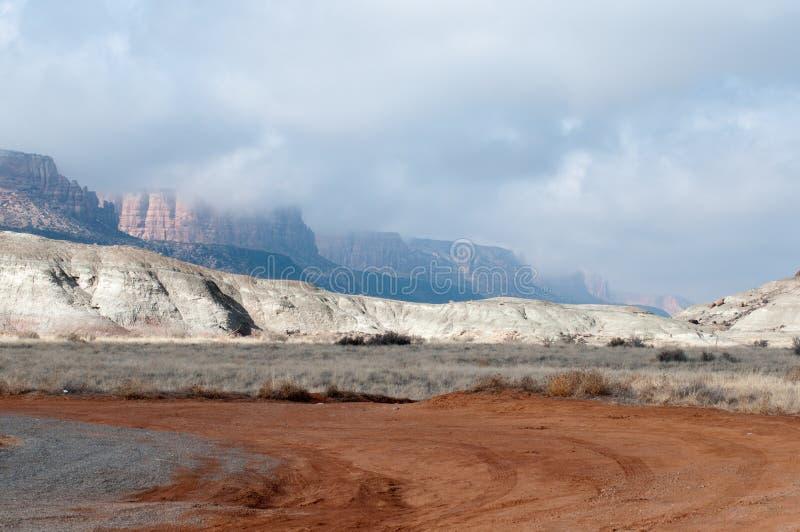 I calanchi si avvicinano a Grand Junction, Colorado immagine stock libera da diritti